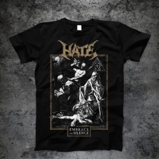 Hate - Embrace the Silence (T-Shirt) | Official Hate Merchandise Webshop Webstore Onlineshop