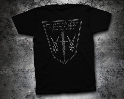 Hate - Solarflesh - dark gospel (T-Shirt back) | Official Hate Merchandise Webshop Webstore Onlineshop
