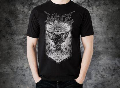 Hate - Solarflesh - dark gospel (T-Shirt man) | Official Hate Merchandise Webshop Webstore Onlineshop