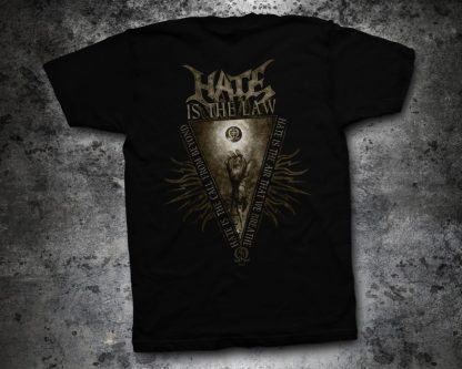 Hate - Solarflesh - radiant divinity (T-Shirt back) | Official Hate Merchandise Webshop Webstore Onlineshop