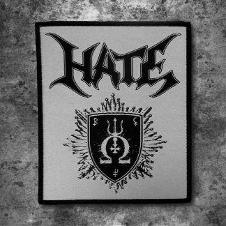 Hate - three realms omega (Patch) | Official Hate Merchandise Webshop Webstore Onlineshop