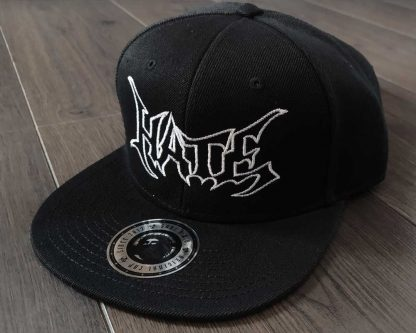 Hate-Logo-Snapback-Cap