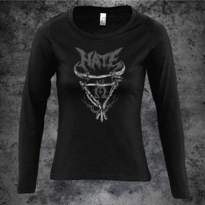 Hate-Veles-branches-girlie-longsleeve-shirt-front
