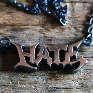 Hate-Logo-Jewellery-Halskette-necklace