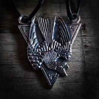 Hate-Nighthawk-Death-Messenger-Jewellery-Halskette-necklace
